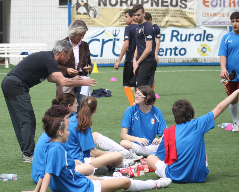 11 MAGGIO 2013, VARONE di RIVA del GARDA: WOMEN'S FOOTBALL WEEK 2013