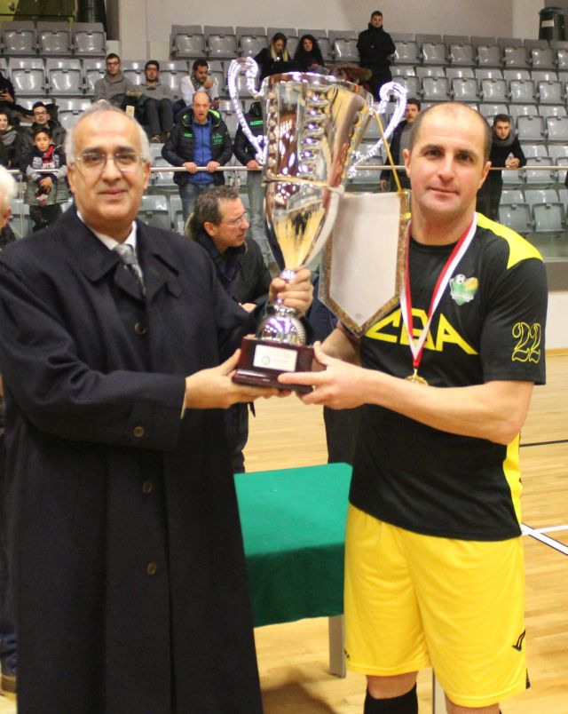 ROTAL FUTSAL ROVERETO BRINDA IN COPPA